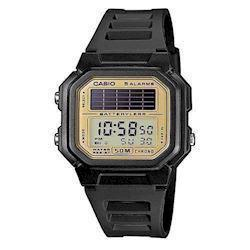 AL-190W-9AVEF, Casio Classic digital herreur med forgyldt display